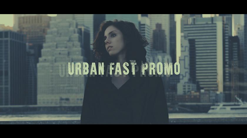 پروژه آماده پریمیر با موزیک  تیتراژ و وله سینمایی Urban Fast Promo