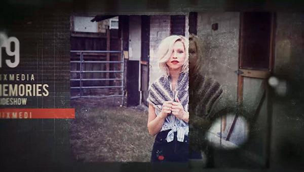 پروژه افترافکت با موزیک  اسلایدشو قدیمی Vintage Memories