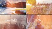 پروژه افترافکت با موزیک اسلایدشو مدرن Epic Slideshow Opener