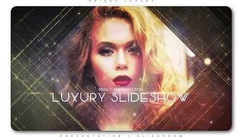 پروژه افترافکت با موزیک اسلایدشو نورانی لوکس Bright Luxury Presentation Slideshow