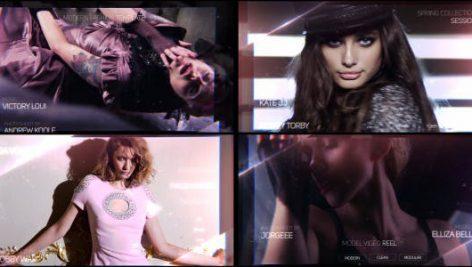 پروژه افترافکت با موزیک : تیتراژ سینمایی و تیزر Fashion Reel
