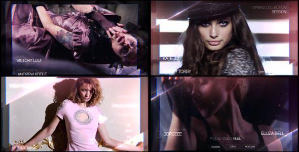 پروژه افترافکت با موزیک  تیتراژ سینمایی و تیزر Fashion Reel