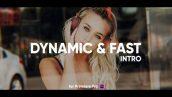 پروژه افترافکت با موزیک تیتراژ سینمایی Dynamic Fast Intro for Premiere Pro