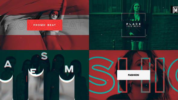 پروژه افترافکت با موزیک  وله اسپرت فشن Promo Fashion Opener