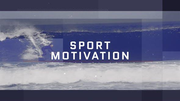 پروژه افترافکت با موزیک  وله تبلیغاتی و تیتراژ Sport Motivation