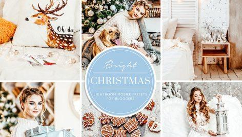 پریست لایت روم تم زمستانی و کریسمس Christmas Blogger Lightroom presets
