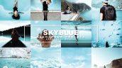 پریست لایت روم دسکتاپ و موبایل تم آسمان آبی SkyBlue