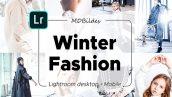 پریست لایت روم دسکتاپ و موبایل تم اسپرت زمستانی Lightroom Presets Winter Fashion