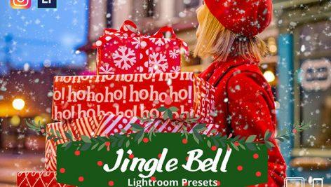 پریست لایت روم دسکتاپ و موبایل تم زمستانی و کریسمس Jingle Bells Lightroom Presets