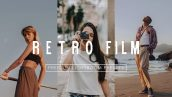 پریست لایت روم دسکتاپ و موبایل تم سینمایی RETRO FILM Lightroom Presets Pack