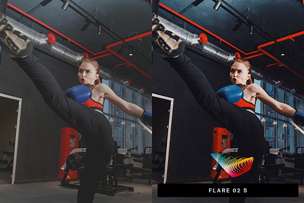 پریست لایت روم دسکتاپ و موبایل تم ورزشی Fury 50 Intense Lightroom Presets