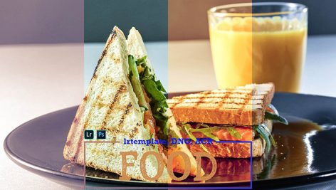 پریست لایت روم دسکتاپ و موبایل عکس غذا Food LR Presets for Mobile and Desktop