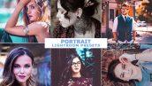 پریست لایت روم دسکتاپ و موبایل عکس پرتره Portrait Lightroom Presets