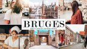 پریست لایت روم دسکتاپ و موبایل و کمرا راو Bruges Lightroom Presets Pack