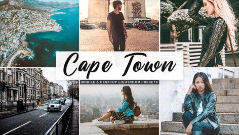 پریست لایت روم دسکتاپ و موبایل و کمرا راو Cape Town Lightroom Presets