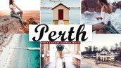 پریست لایت روم دسکتاپ و موبایل و کمرا راو Perth Pro Lightroom Presets