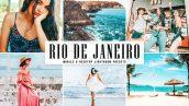 پریست لایت روم دسکتاپ و موبایل و کمرا راو Rio De Janeiro Lightroom Presets