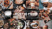 پریست لایت روم دسکتاپ و موبایل و کمرا راو Rustic Food