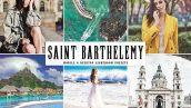 پریست لایت روم دسکتاپ و موبایل و کمرا راو Saint Barthelemy Lightroom Preset