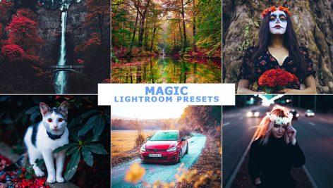 پریست لایت روم دسکتاپ و موبایل پریست جادویی Magic Lightroom Presets