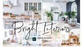 پریست لایت روم دسکتاپ و موبایل Bright Interior Lightroom Presets