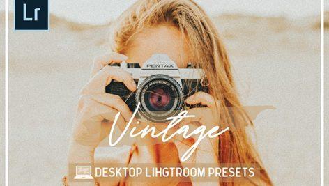 پریست لایت روم دسکتاپ Desktop Vintage Lightroom Presets