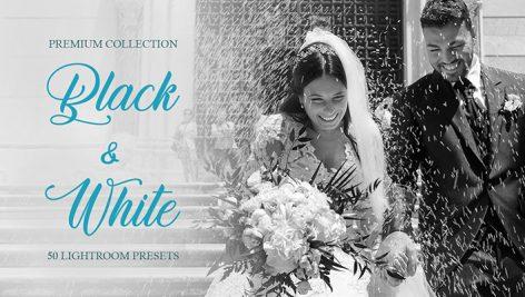 پریست لایت روم و براش لایت روم مخصوص عروسی : Black White Presets for Lightroom