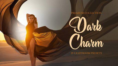 پریست لایت روم و براش لایت روم : Dark Charm Presets for Lightroom