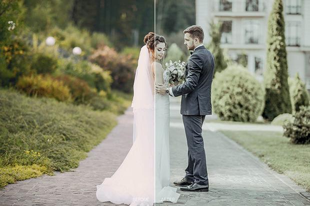 پریست لایت روم و کمرا راو برای عکس عروسی Wedding LR Mobile and ACR Presets