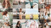 پریست لایت روم و کمرا راو تم بلاگر Trendy Blogger