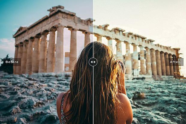 پریست لایت روم و Camera Raw و اکشن: Athens Mobile Desktop Lightroom Presets
