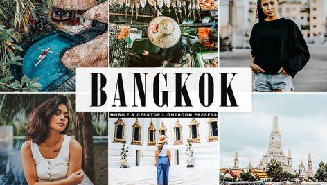پریست لایت روم و Camera Raw و اکشن Bangkok Mobile Desktop Lightroom Presets