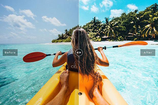 پریست لایت روم و Camera Raw و اکشن Kauai Mobile Desktop Lightroom Presets