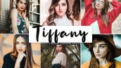 پریست لایت روم و Camera Raw و اکشن Tiffany Mobile Desktop Lightroom Presets