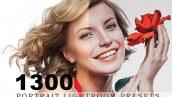 1300 پریست لایت روم عکس پرتره Portrait Lightroom Presets