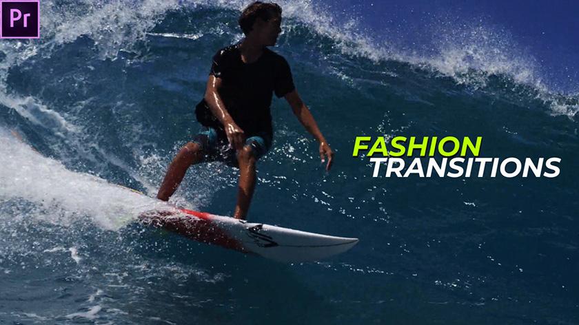 دانلود ترنزیشن پریمیر فوق حرفه ای Fashion Transitions