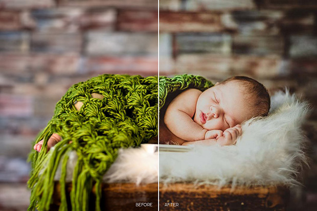پریست لایت روم و Camera Raw عکس کودک و نوزاد Baby LR Mobile and ACR Presets