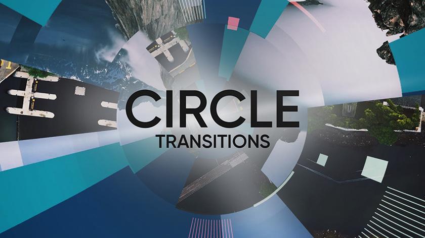 دانلود ترنزیشن پریمیر با افکت دایره Circle Transitions