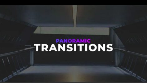 دانلود ترنزیشن پریمیر با افکت کشش فیلم Panoramic Transitions