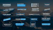 دانلود مجموعه 20 تایتل آماده پریمیر برای متن Animated Titles VII