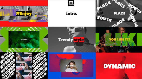 دانلود پروژه افترافکت با موزیک وله اکشن Bold Dynamic Intro