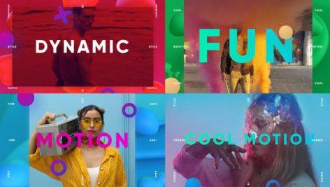 دانلود پروژه افترافکت با موزیک : وله تیتراژ فیلم Cool Motion