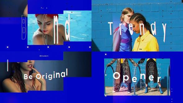 دانلود پروژه افترافکت با موزیک  وله فشن و اسپرت Fashionable