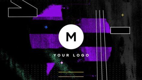 دانلود پروژه پریمیر : لوگو و آرم Grunge Distortion Logo