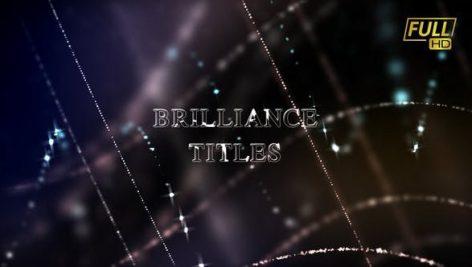 پروژه آماده تایتل افترافکت با موزیک تایتل درخشنده Brilliance Titles Awards Titles