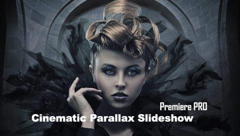 پروژه آماده پریمیر با موزیک : اسلایدشو پارالاکس سینمایی Cinematic Parallax Slideshow