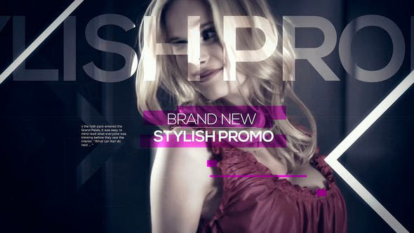 پروژه آماده پریمیر با موزیک  تیتراژ فیلم Trendy Fashion Promo