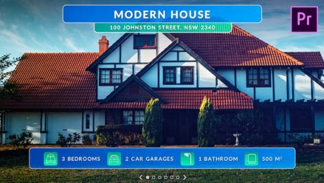 پروژه آماده پریمیر با موزیک معرفی هتل و املاک Real Estate Promo
