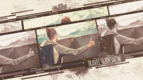 پروژه افترافکت با موزیک اسلایدشو مسافرت Travel Slideshow