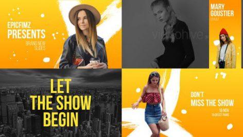 پروژه افترافکت با موزیک : تیتراژ سینمایی و تیزر Fashion Event Broadcast